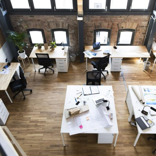 Beautiful office space can uplift the mood