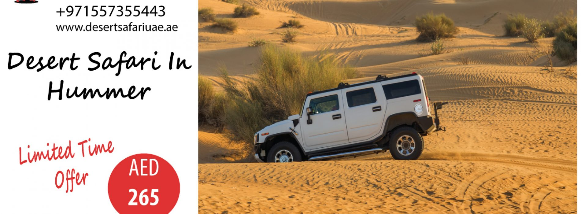 Enjoy desert safari Dubai to the most