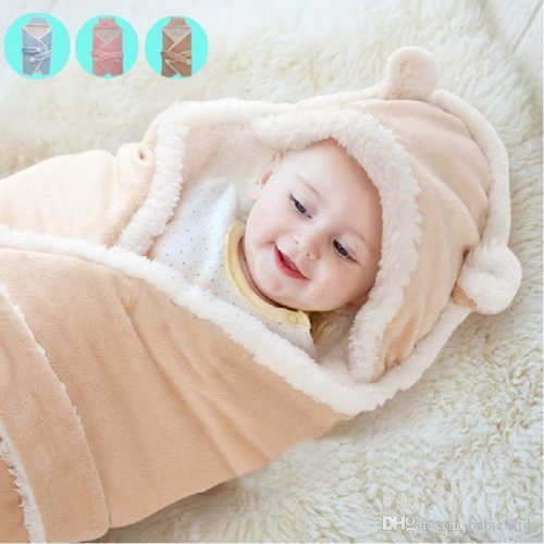 Buy cute blankets for babies for their sound sleep: