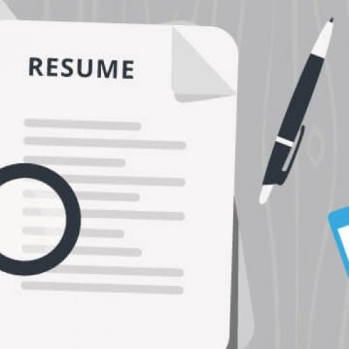 Three crucial roles of resume in human life