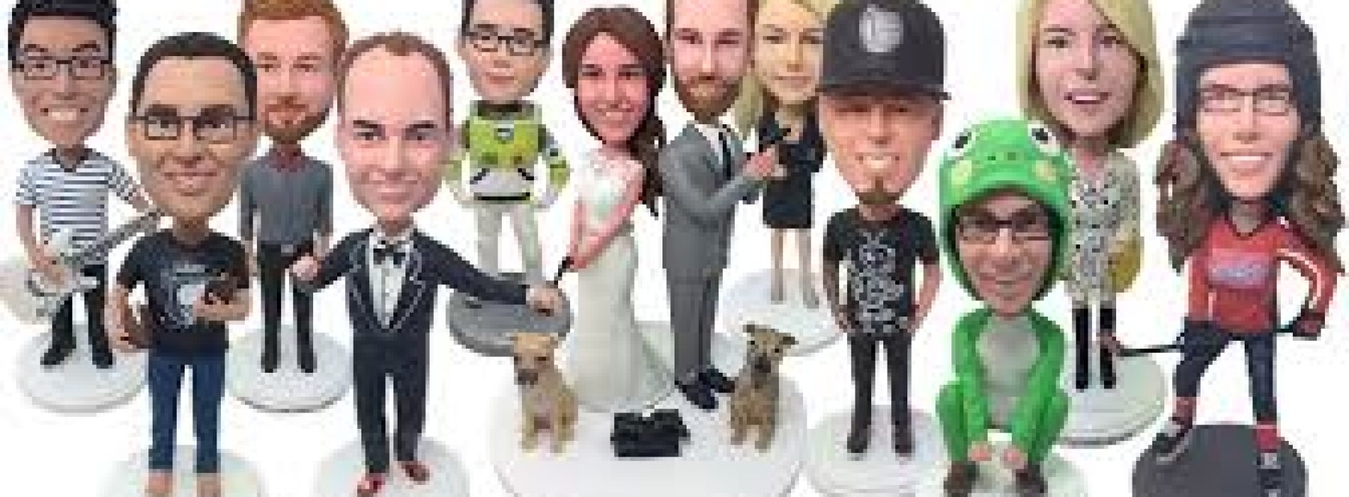 Get your own customized Bobbleheads to make your bedroom look cool