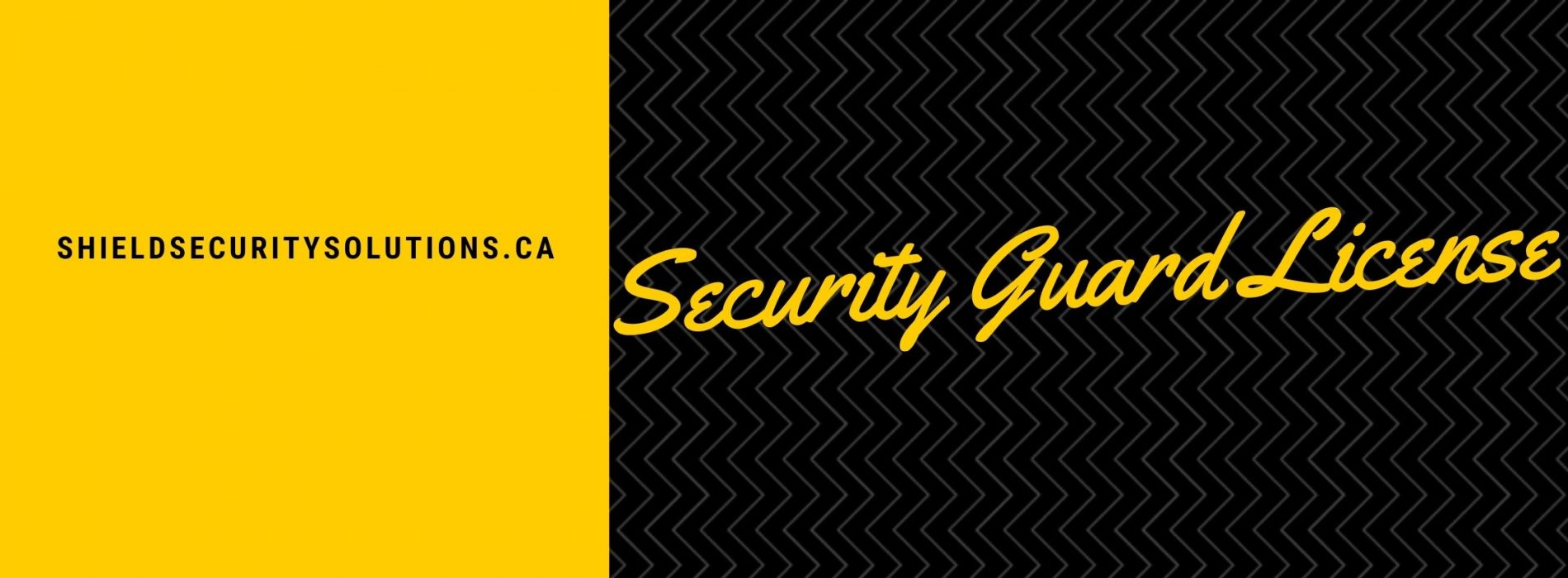 Security Guard License – Why You Need It