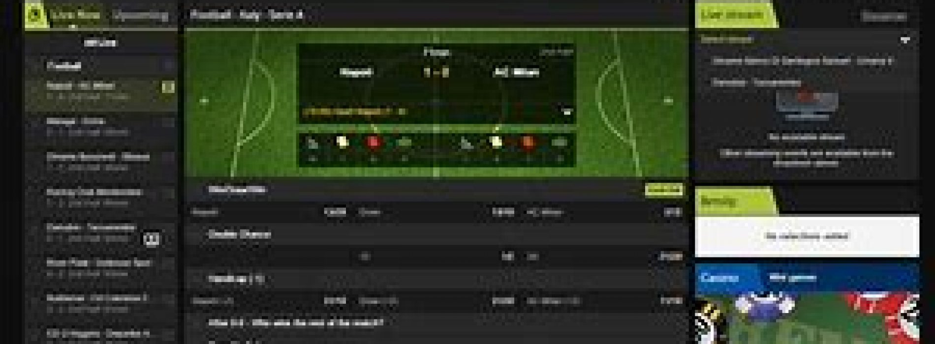 Types of Football Bets on Offer